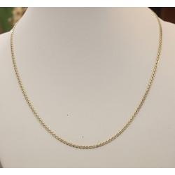 Catena - Catenina Marchisia, maglie piene in Oro 750/1000 (18 Kt)