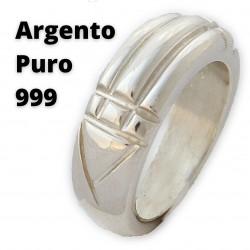 Argento puro 999 - Anello di RA - del Re, Anello di Atlantide, di Karnak, Anello Luxor